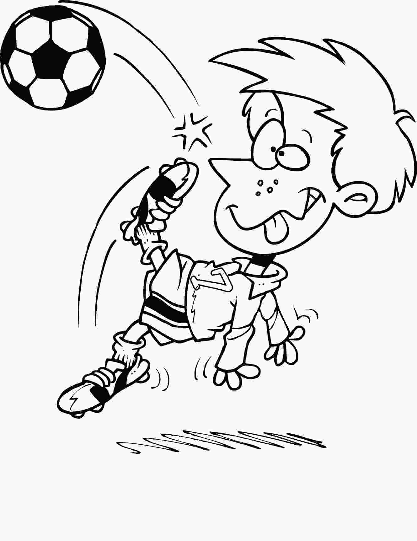 free printable coloring pages for children free printable soccer coloring pages for kids