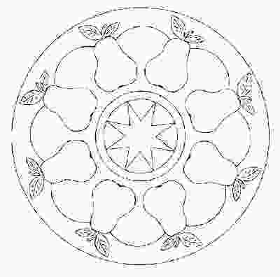 fruit mandala coloring pages fruit and vegetable mandala coloring page crafts and 1