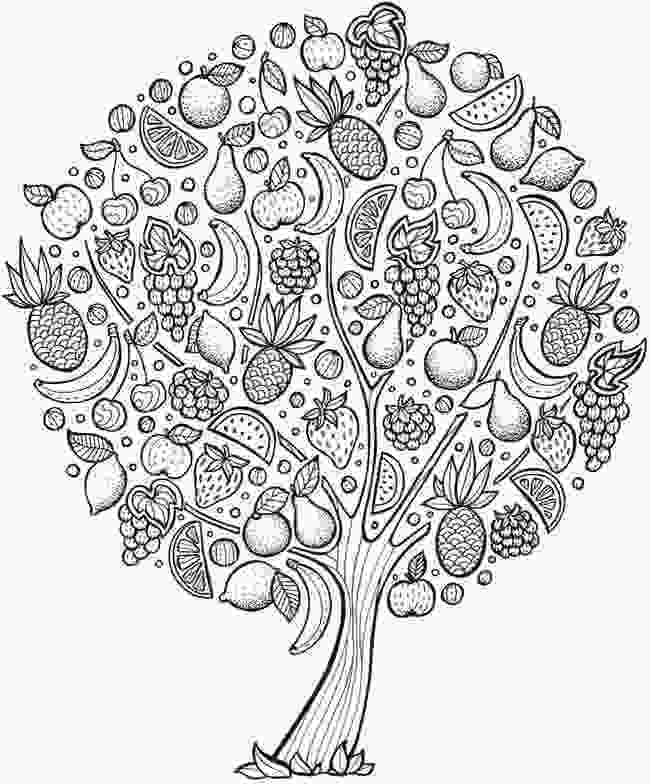 fruit mandala coloring pages pin by laura nicholson on color me zen coloring pages