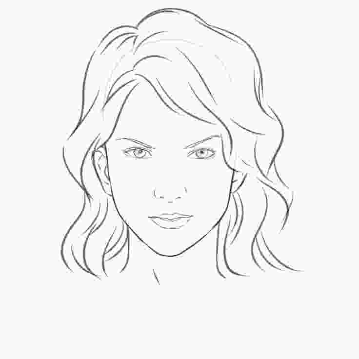 how to draw a girl draw a girls face female face drawing face drawings