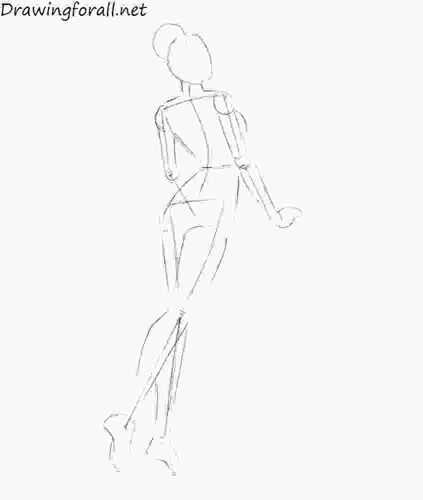 how to draw a girl how to draw a girl step by step drawingforallnet