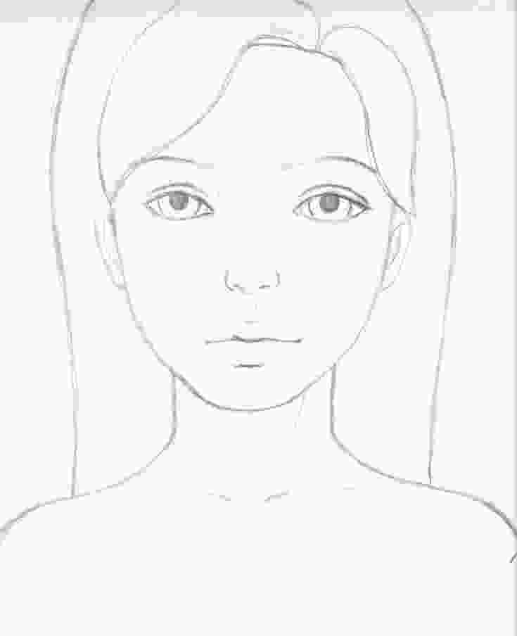 how to draw a girl image result for easy sketch ideas for beginners