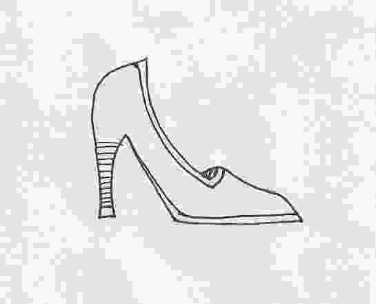how to draw high heels how to draw a high heel ehow uk