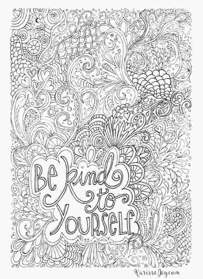 inspirational quotes coloring sheets 12 inspiring quote coloring pages for adultsfree printables