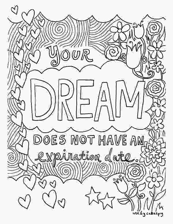 inspirational quotes coloring sheets free coloring book pages for grownups inspiring quotes