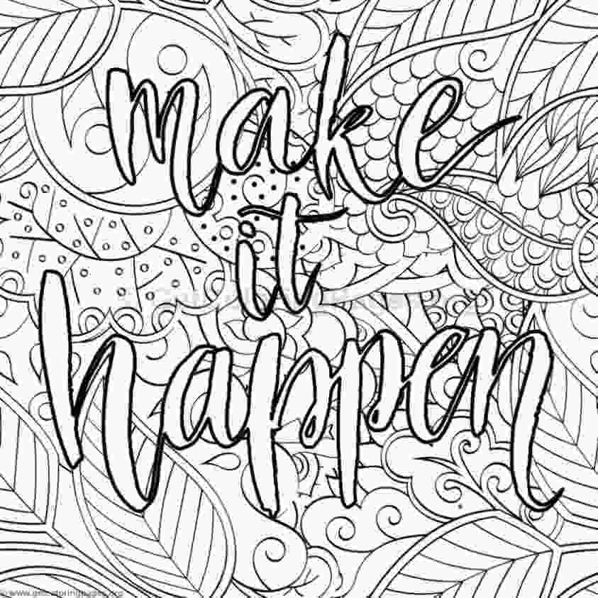 inspirational quotes coloring sheets inspirational word coloring pages 34 getcoloringpagesorg