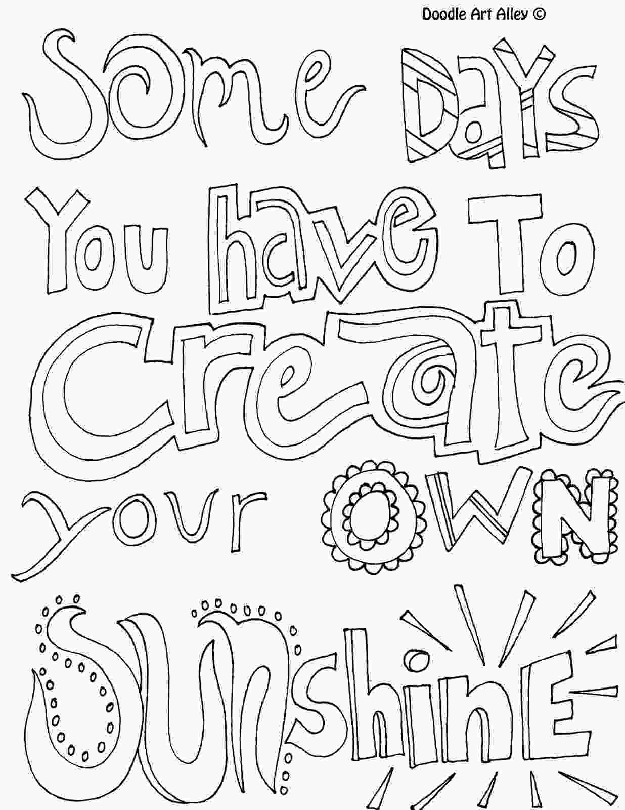 inspirational quotes coloring sheets positive quotes coloring pages quotesgram