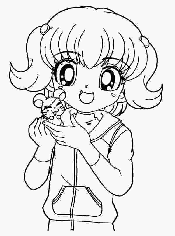 japanese anime coloring pages 8 anime girl coloring pages pdf jpg ai illustrator