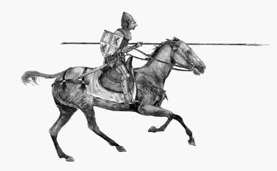 knight on a horse praxinoscope galloping warhorse film storyboards