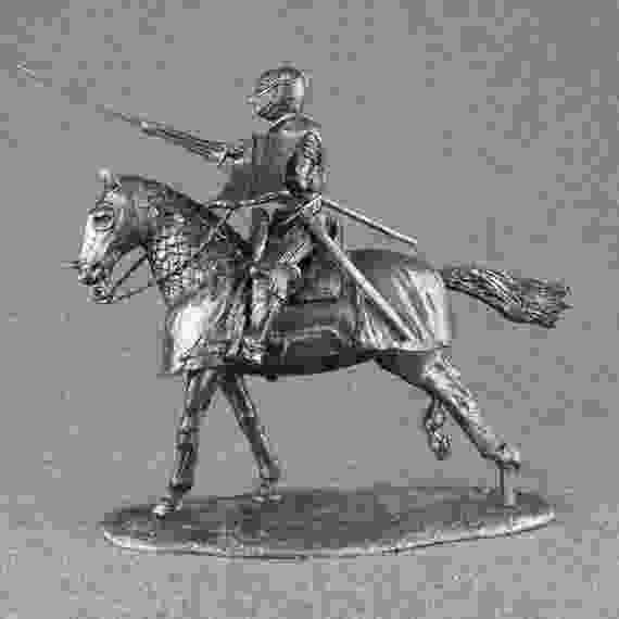 knight on a horse toy knight with lance on a horse 132 scale by roninminiatures