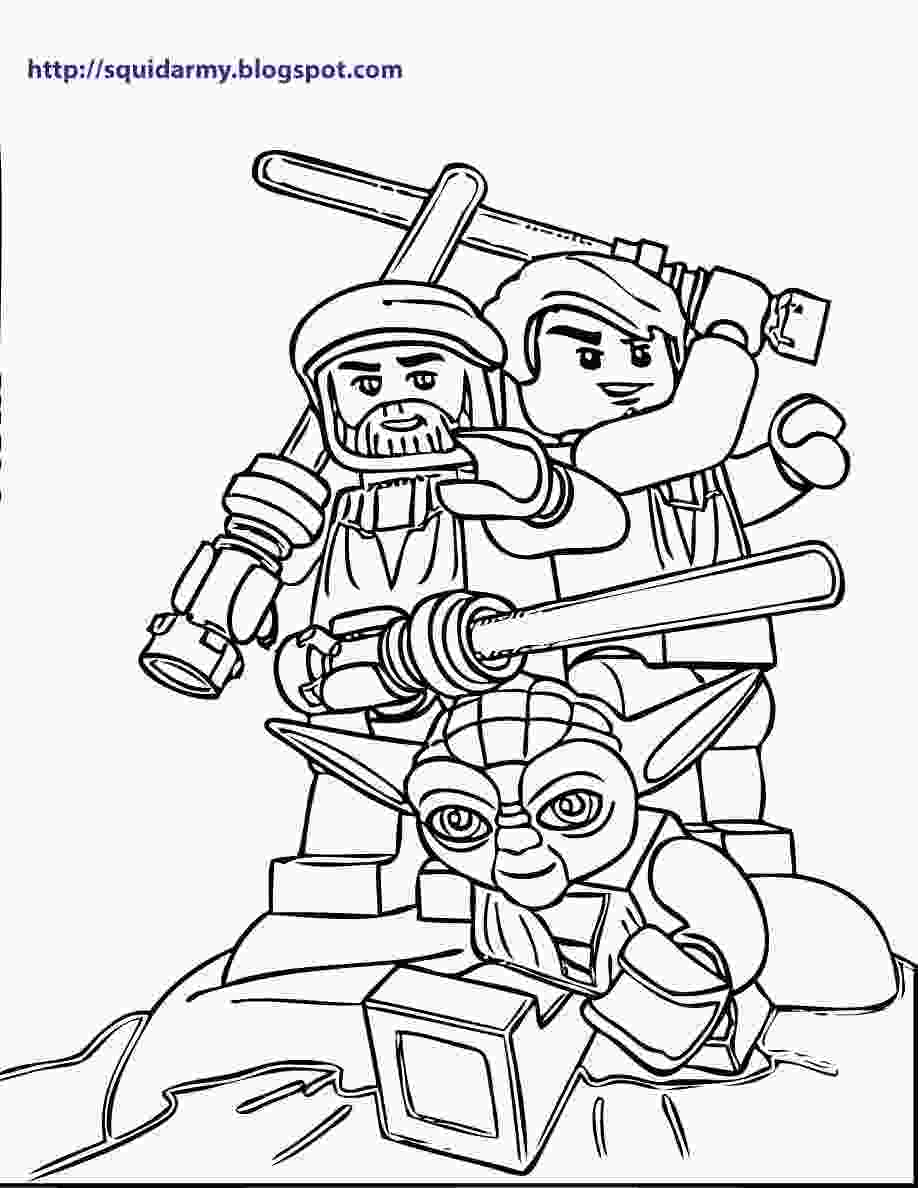 lego star wars pictures lego star wars coloring pages squid army
