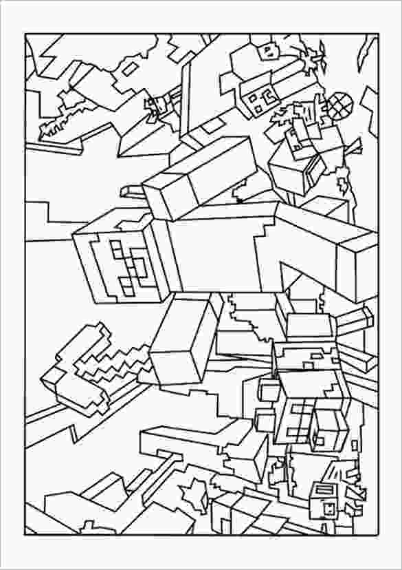 minecraft images printable 16 minecraft coloring pages pdf psd png free