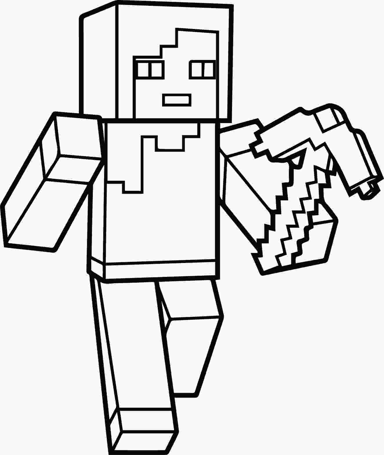 minecraft pictures for kids minecraft coloring pages best coloring pages for kids