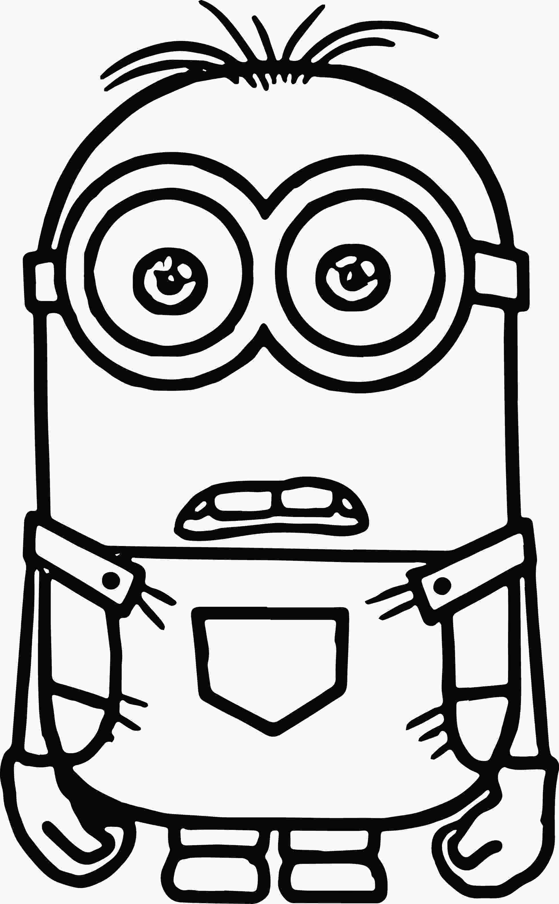 minion coloring minions coloring pages wecoloringpage minion coloring