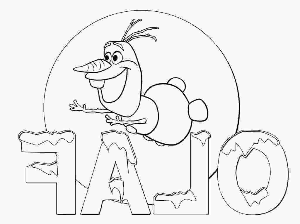 olafs frozen adventure coloring pages frozen olaf coloring pages disney kids characters free
