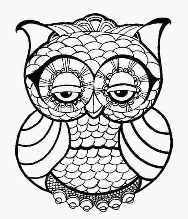 owl pages sugar skull owl coloring pages at getcoloringscom free
