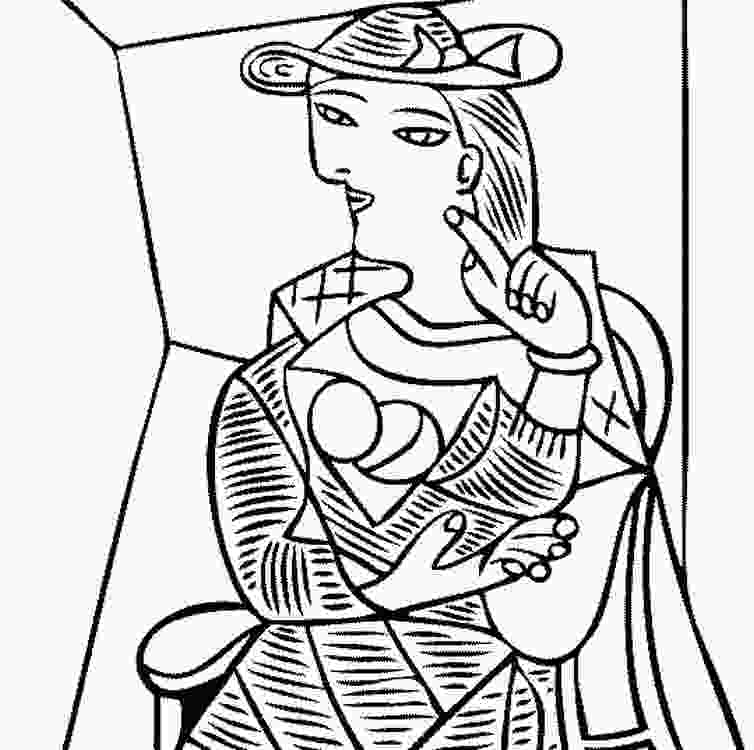 picasso coloring sheets picasso paintings coloring pages coloring pages
