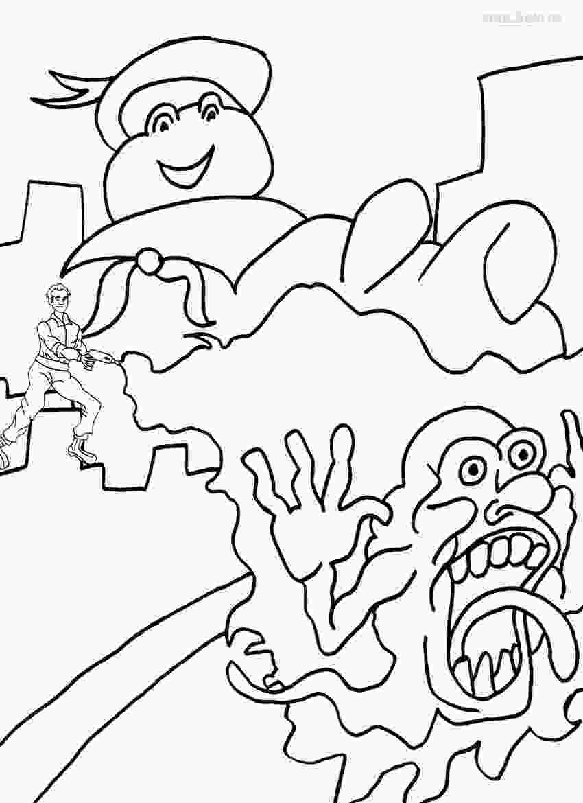 printable coloring page printable ghostbusters coloring pages for kids cool2bkids