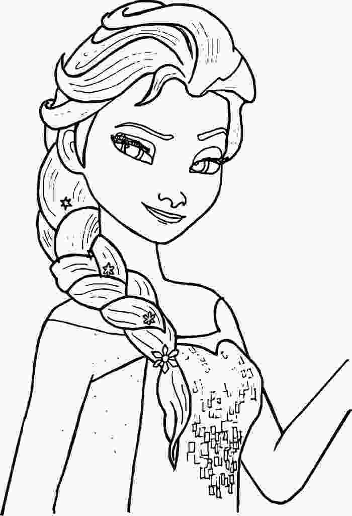 printable elsa pictures free printable elsa coloring pages for kids disney