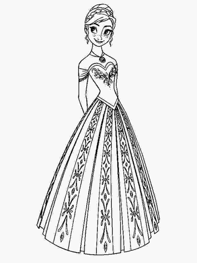 printable elsa pictures free printable frozen coloring pages for kids best
