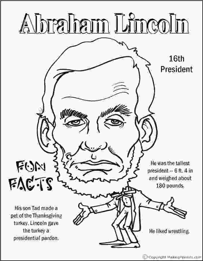 printable pictures of abraham lincoln abe lincoln coloring pages george washington coloring pages