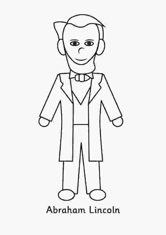 printable pictures of abraham lincoln abraham lincoln coloring pages best coloring pages for kids