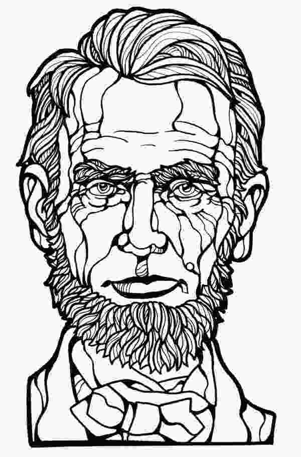 printable pictures of abraham lincoln abraham lincoln coloring pages printable coloring home