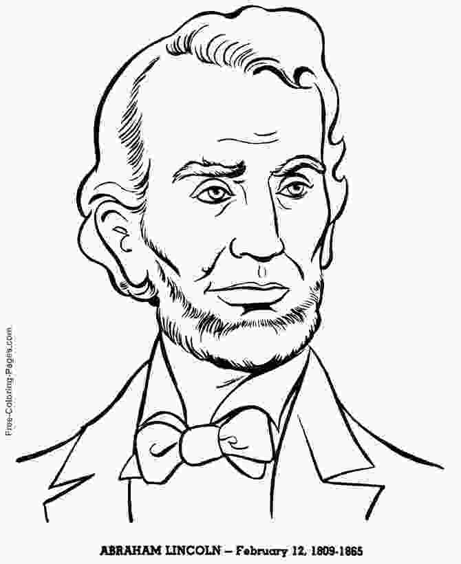 printable pictures of abraham lincoln presidents day coloring pages president s day coloring