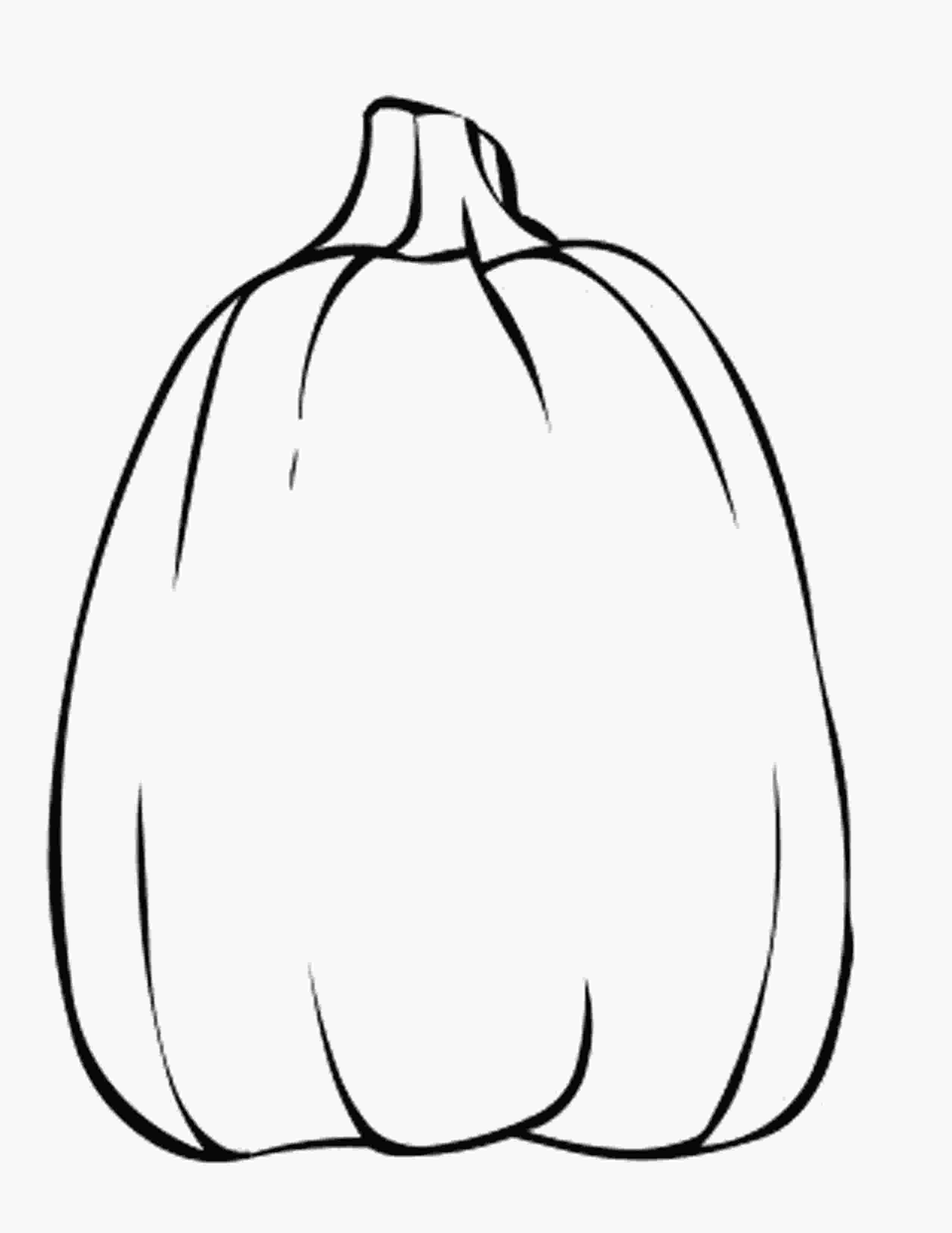 pumpkins to color blank pumpkin template coloring home