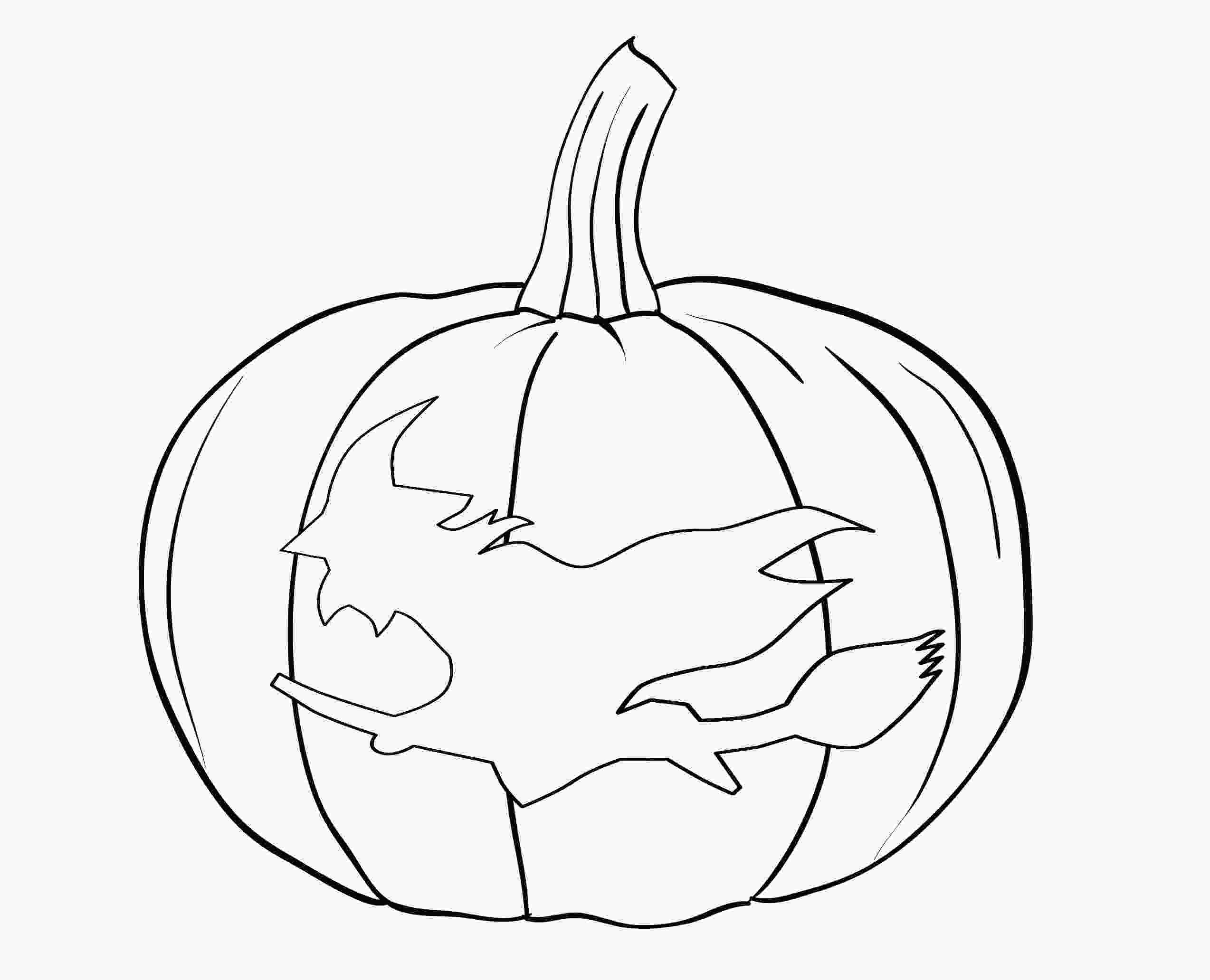 pumpkins to color free printable pumpkin coloring pages for kids 1