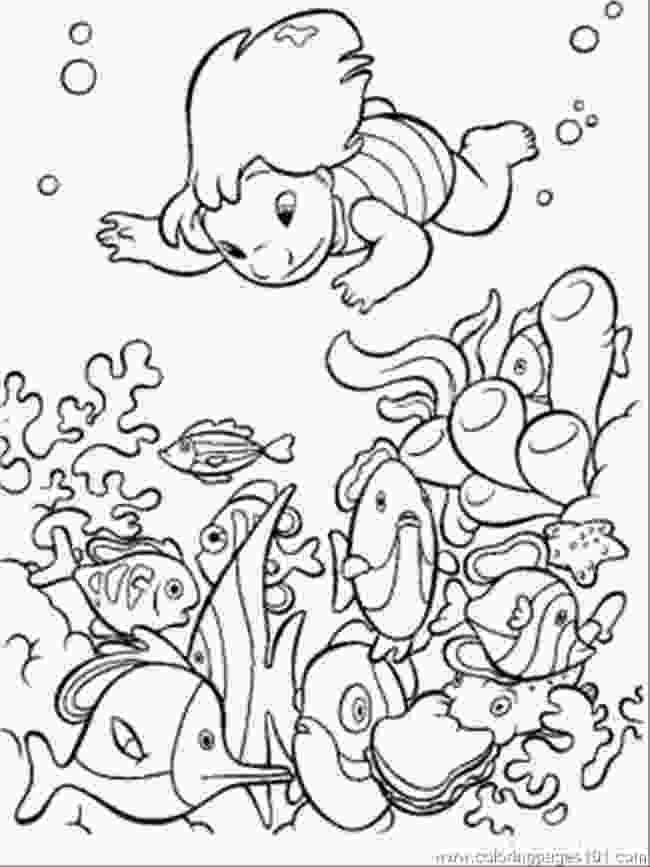 sea coloring book free printable ocean coloring pages for kids