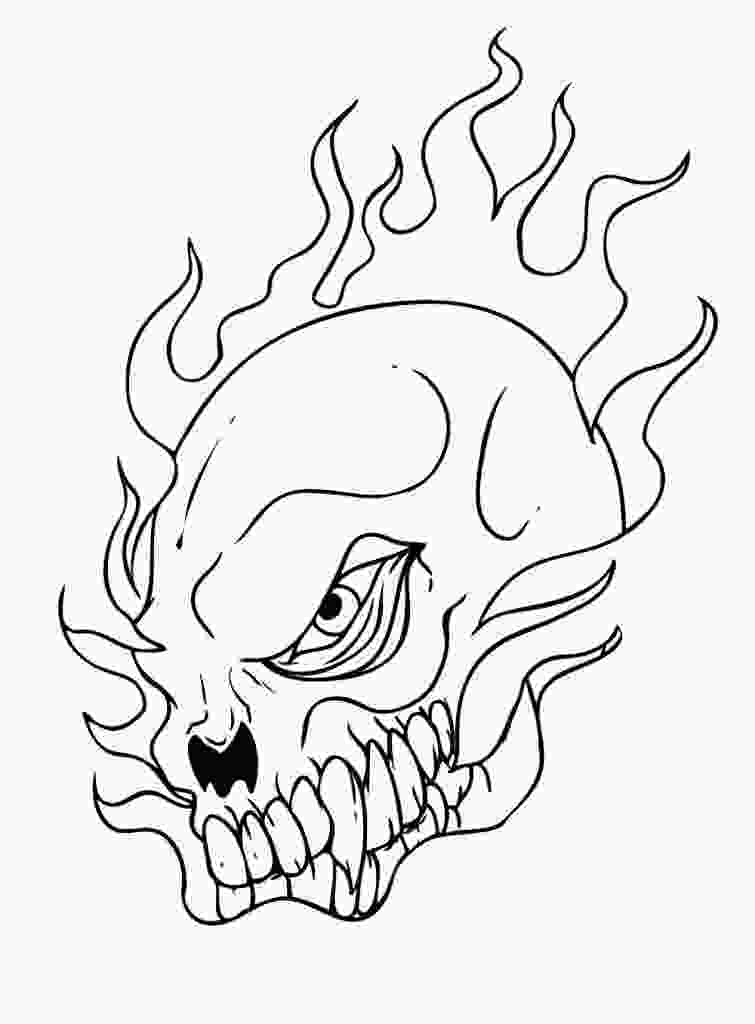 skull coloring sheets free printable skull coloring pages for kids