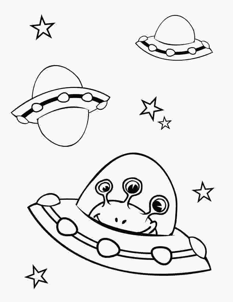 space coloring pictures free printable alien coloring pages for kids