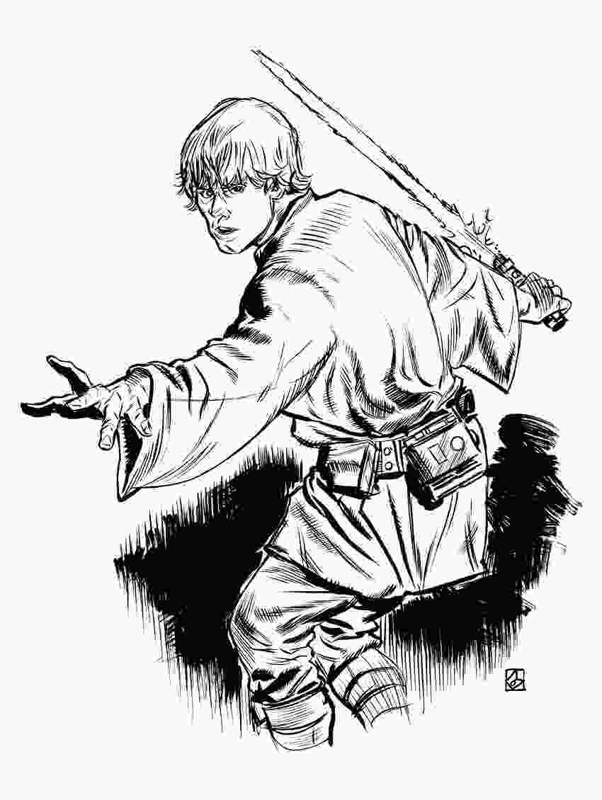 star wars luke coloring pages luke skywalker coloring pages to download and print for free 1