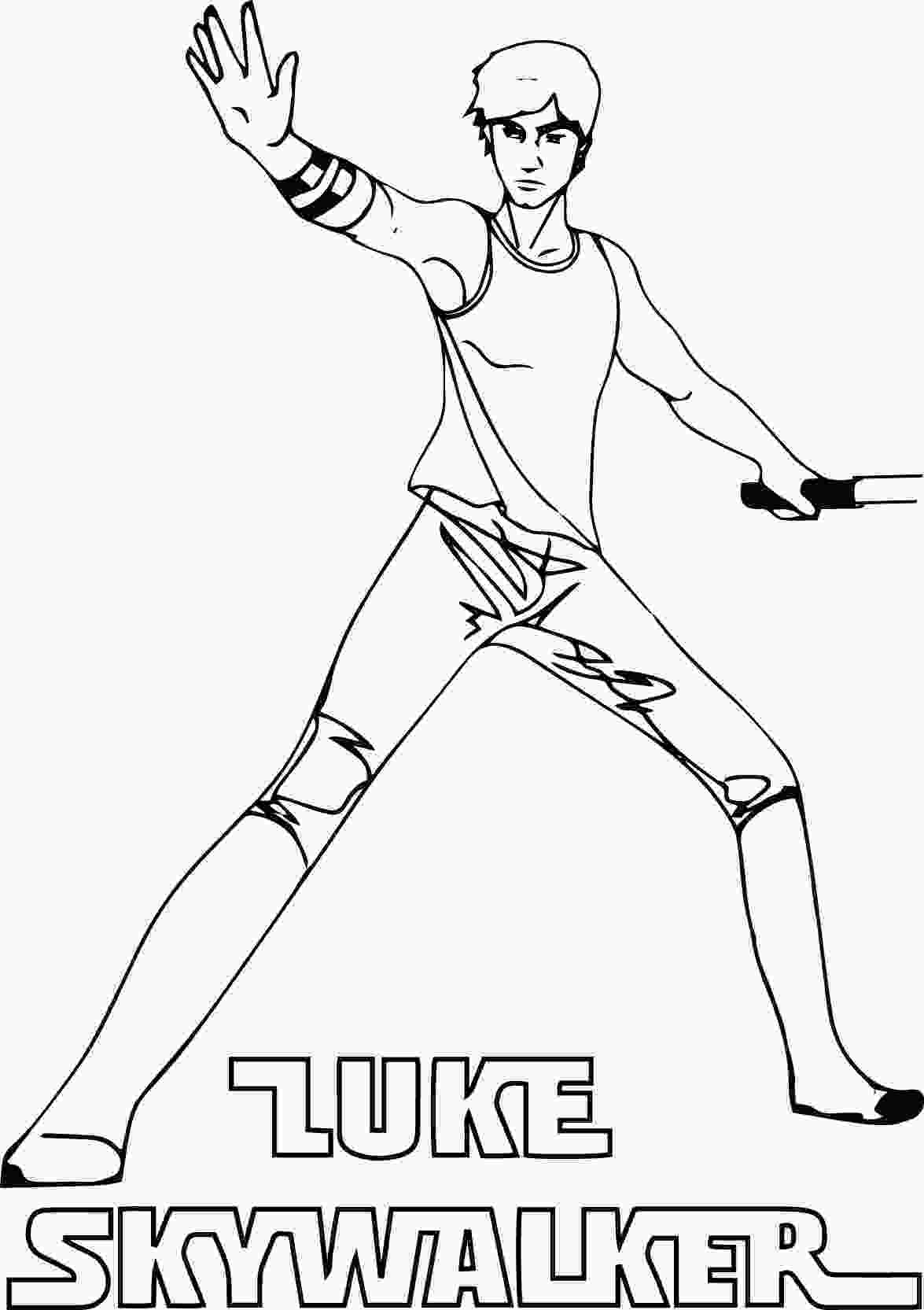 star wars luke coloring pages luke skywalker coloring pages to download and print for free