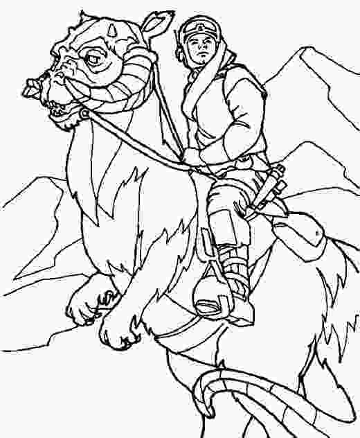 star wars luke coloring pages star wars printable coloring pages