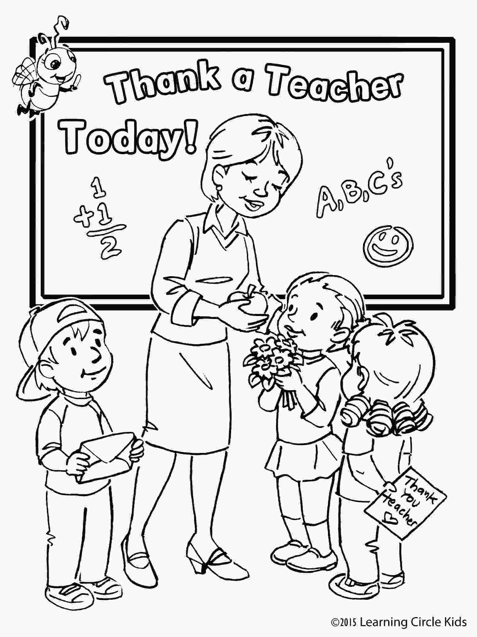 teacher appreciation coloring pages pin by reader bee on reader bee free printable coloring
