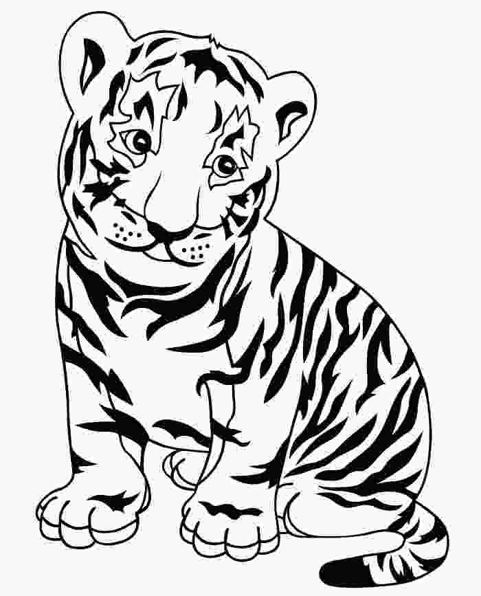 tiger color sheet 60 tiger shape templates crafts amp colouring pages free