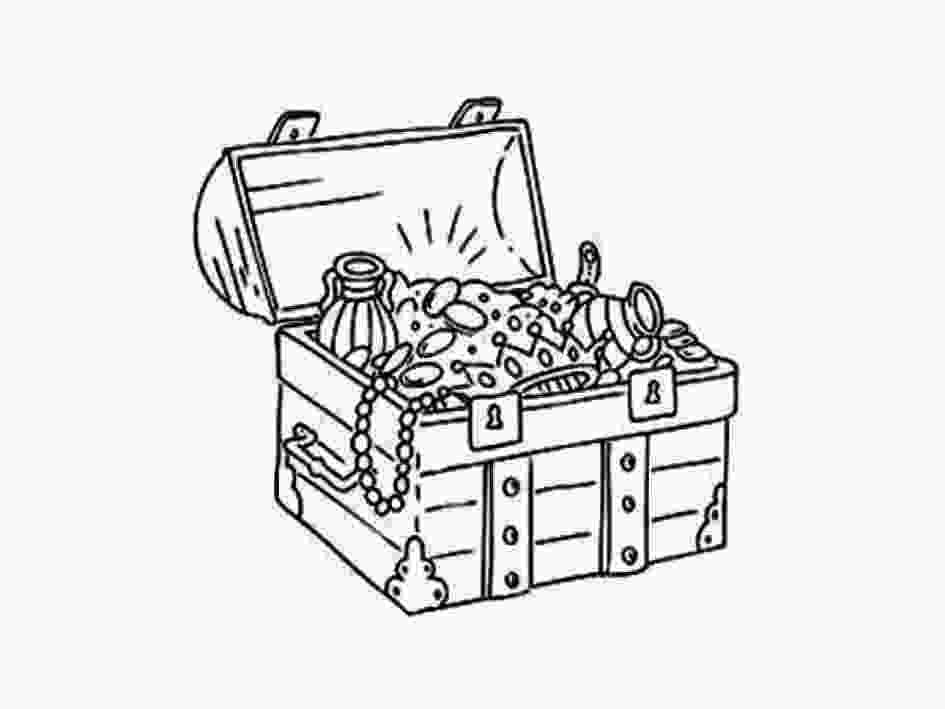treasure chest coloring pages printable 52 treasure coloring pages pirate treasure coloring page