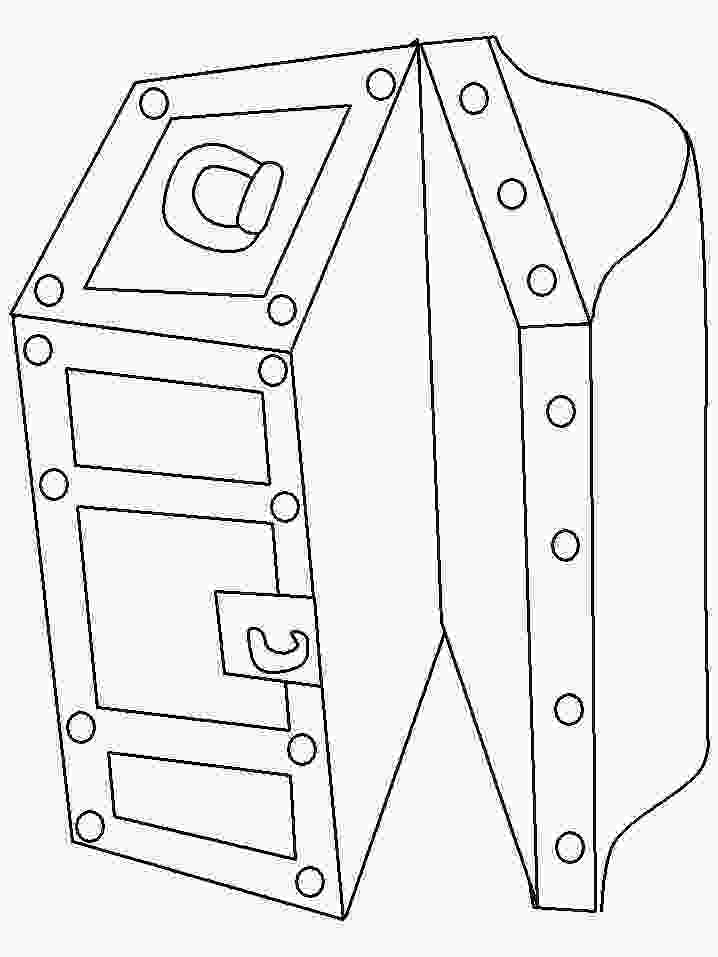 treasure chest coloring pages printable 86 best images about princesspirate templates on