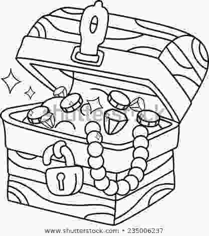 treasure chest coloring pages printable illustration of a ready to print coloring page featuring a