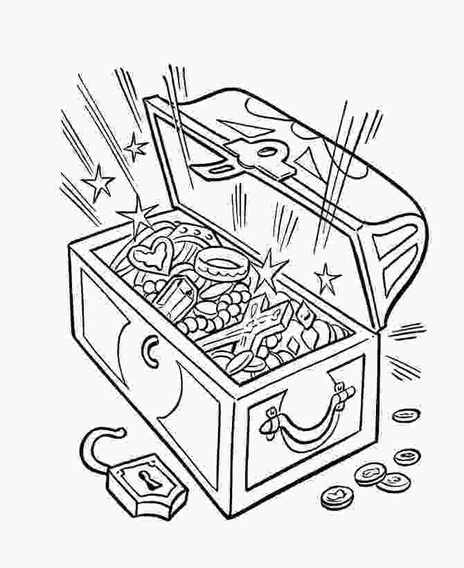 treasure chest coloring pages printable the 277 best 2018 cbca bookweek theme find your treasure