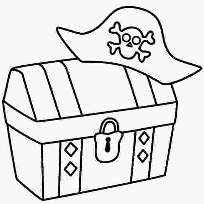 treasure chest coloring pages printable treasure box drawing at getdrawingscom free for