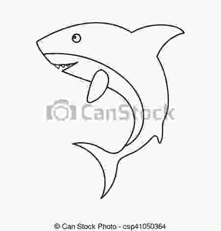 whale shark outline shark icon outline singe animal icon from the big animals