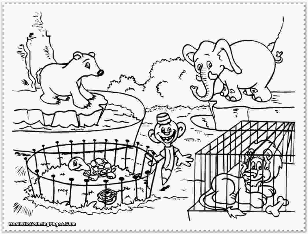 zoo coloring pictures free preschool zoo cliparts download free clip art free