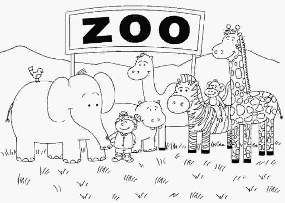 zoo coloring pictures get this online peppa pig coloring pages 63038