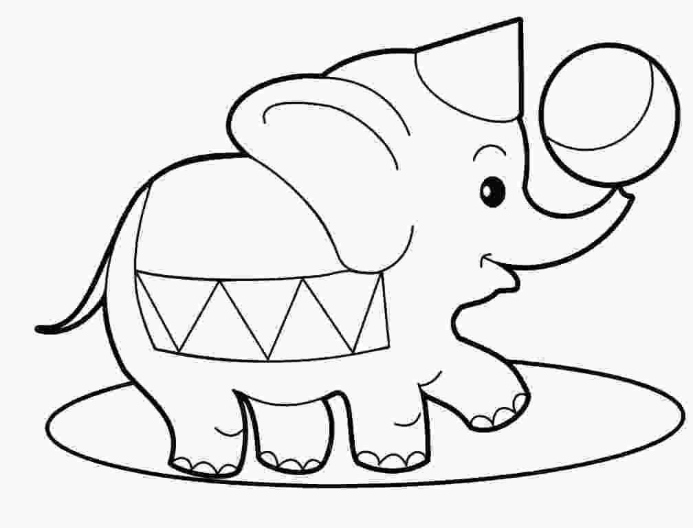 baby elephant coloring page baby elephant coloring pages to download and print for free 4