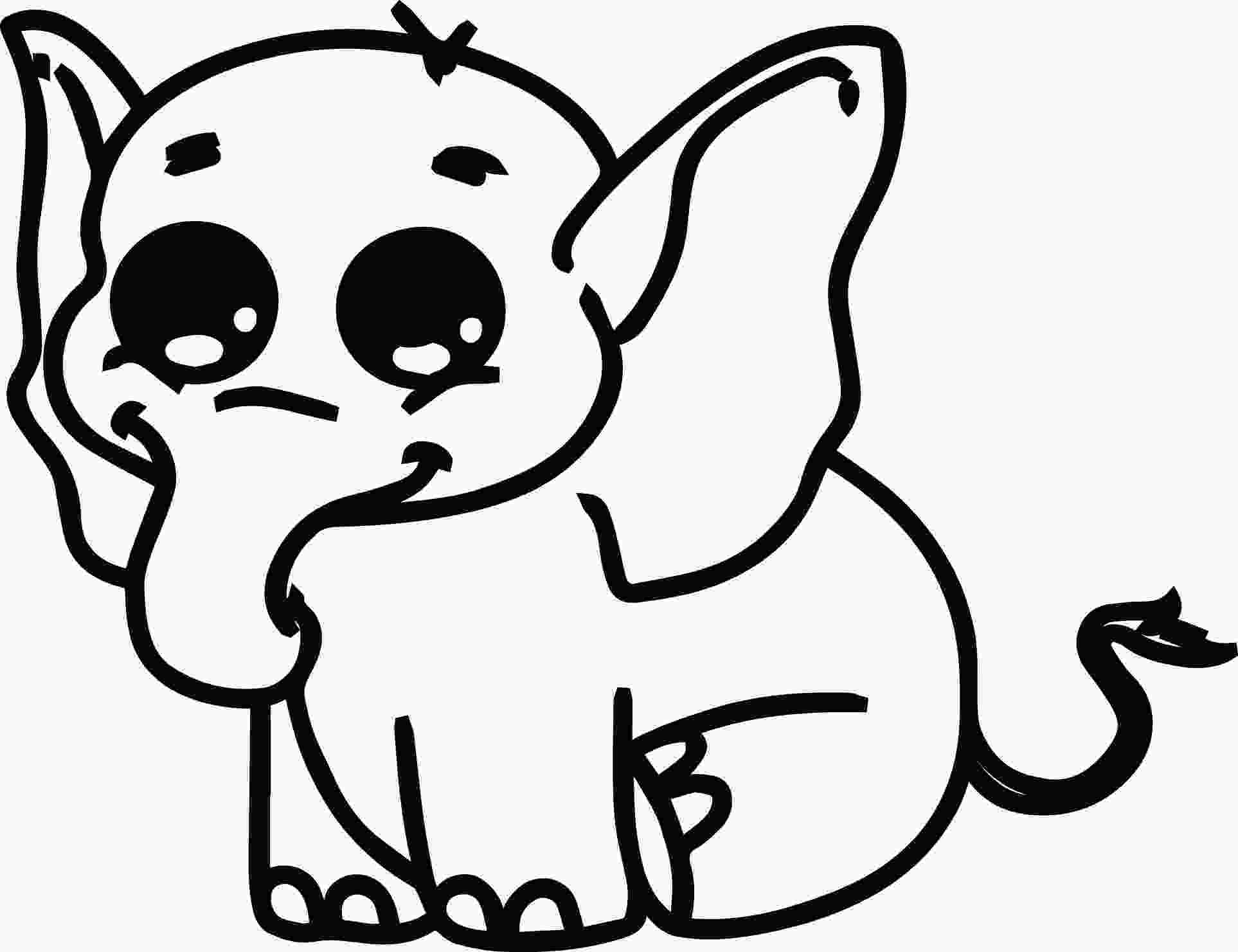 baby elephant coloring page elephant coloring pages coloring home