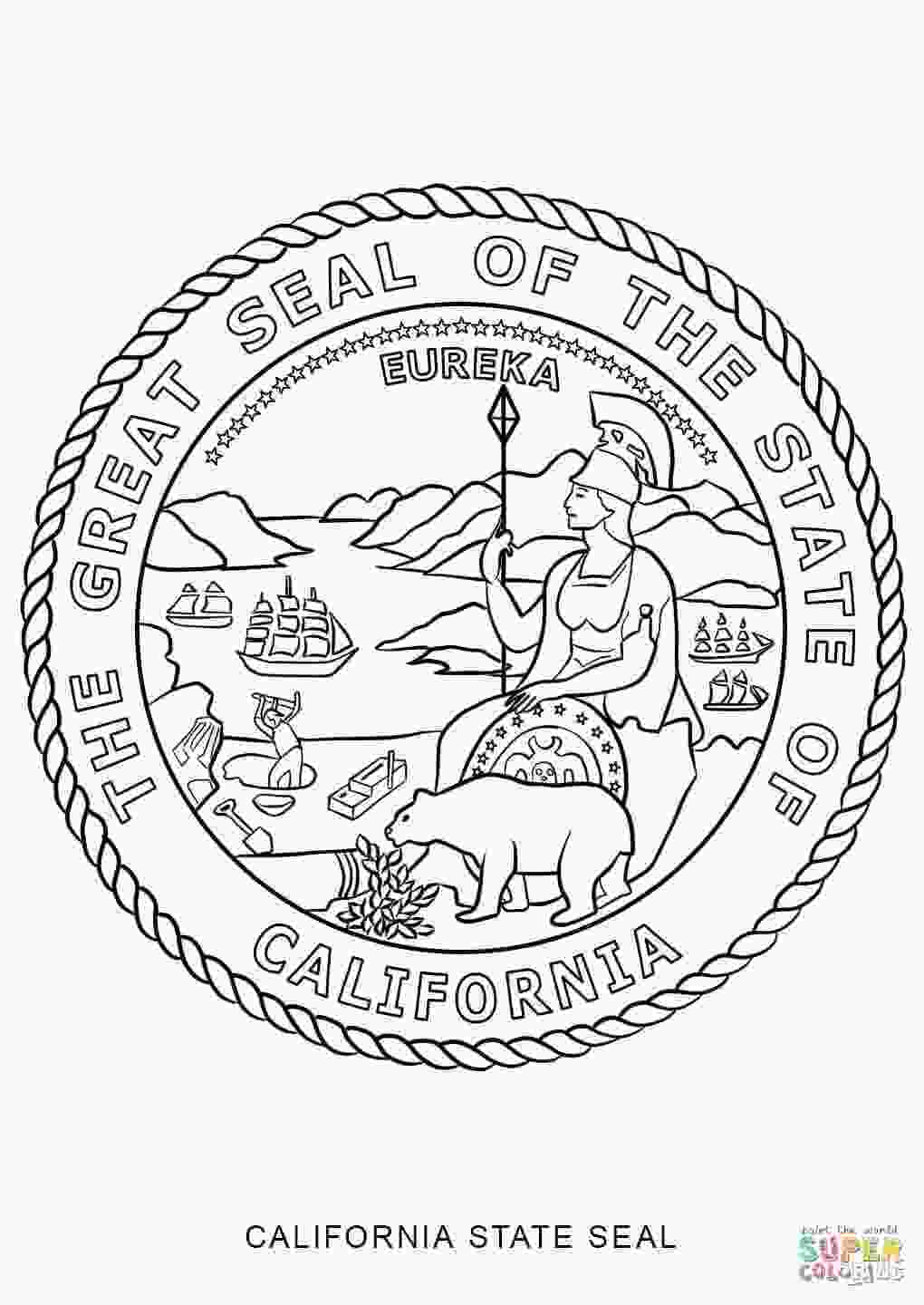 california symbols coloring pages california state symbols coloring pages at getcolorings