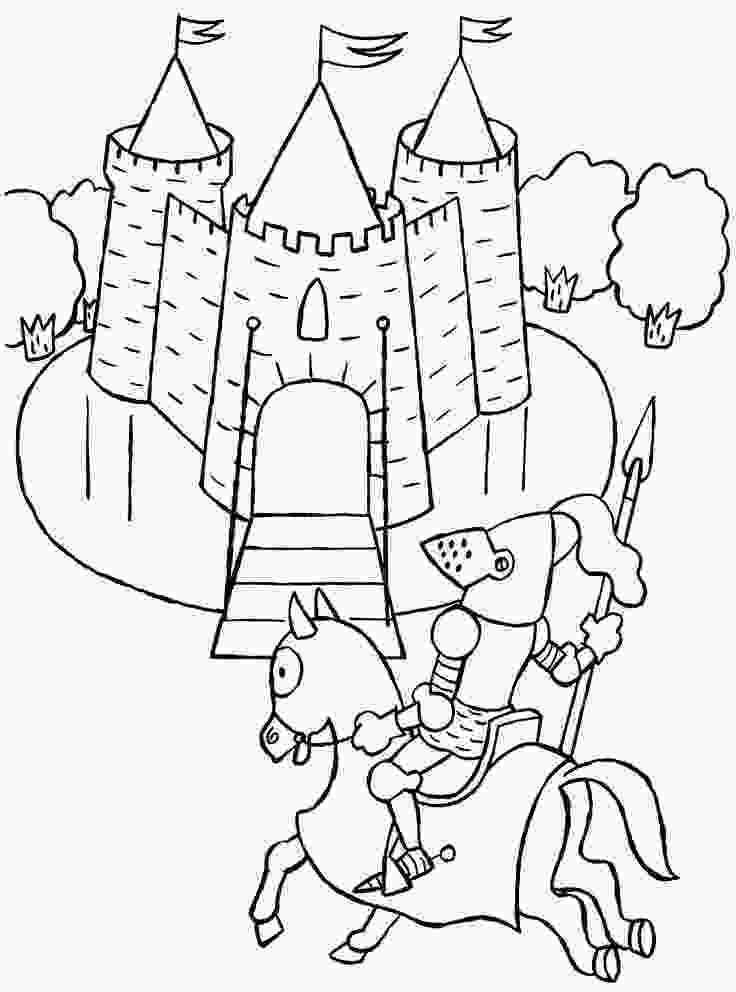 castle crush coloring pages 10 best images about ridders en prinsessen on pinterest